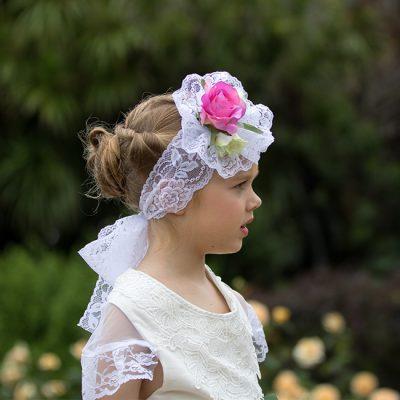 Floral Hair Band Sash Belt