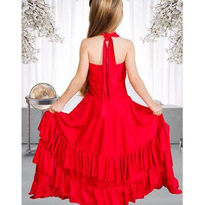 flamenco flower girl dress